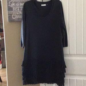 Calvin Klein XL sweater dress, like new, worn once